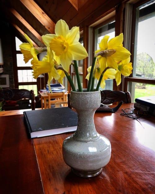 Vases & Vessels by Dan Finnegan seen at Private Residence, Alfred Station - Ceramic Vase