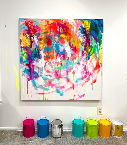 Paintings by Linda Zacks seen at Princeton, NJ, Princeton - GROWSLIKEAFLOWER