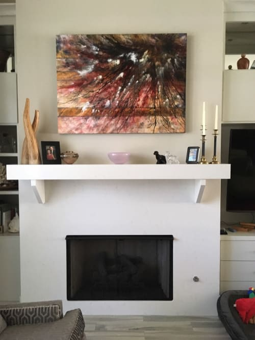 Paintings by Kim Howes Zabbia seen at Private Residence, Hammond - Flutter