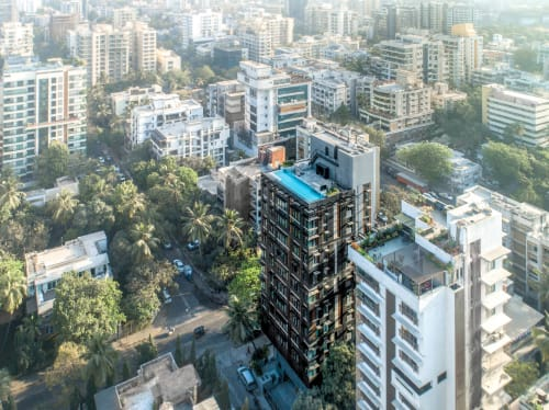 Architecture by SHROFFLEóN seen at Private Residence, Mumbai - 76th South Avenue