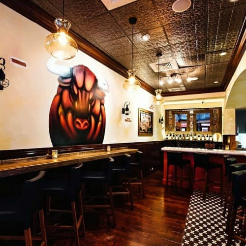 Interior Design by SUEWORKS seen at Tapeo Tapas Bar and Restaurant, West Palm Beach - Interior design