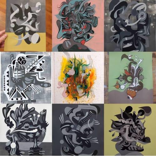 David Joel Kitcher - Paintings and Art
