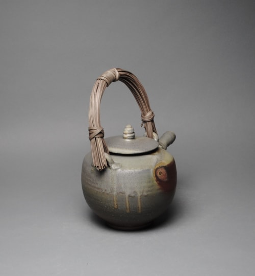 Tableware by John McCoy Pottery seen at Private Residence, Los Angeles - Teapot