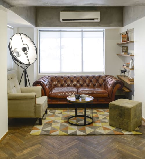 Interior Design by Quirk Studio seen at Mumbai, Mumbai - Kwan - Talent Management Office Space by Quirk Studio