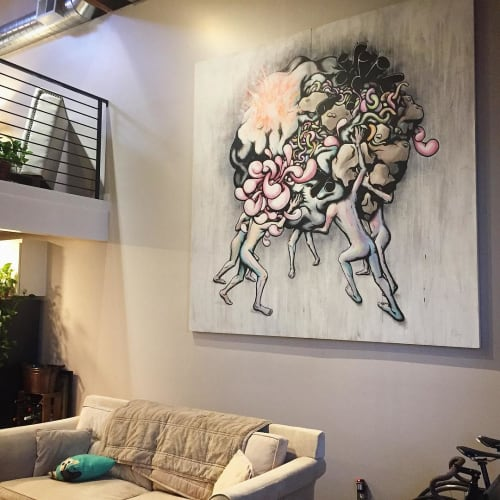 Paintings by Daryll Peirce seen at Private Residence, Oakland - Painting
