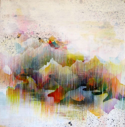 Paintings by Fawn Atencio seen at Telluride, Telluride - Constructed Territories