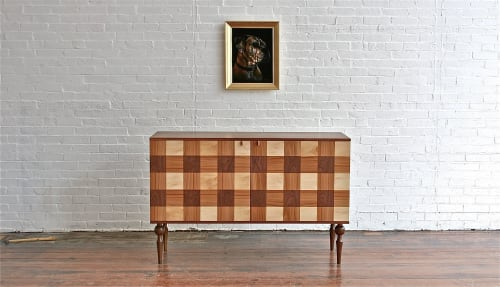 Furniture by Gabriel Keith Sutton Furnituremaker seen at Private Residence, Portland - Plaid Sideboard