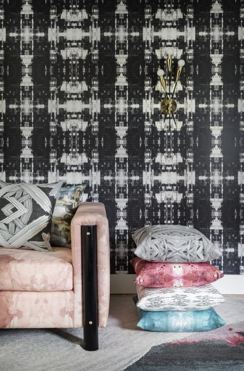 Wallpaper by Michelle Dirkse at Michelle Dirkse Interior Design & Home Decor, Seattle - Sketches Wallpaper