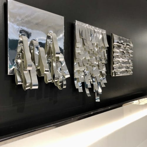 Sculptures by Leisa Rich seen at Italia Furniture, Norcross - Mirror, Mirror, On The Wall, Mini 1, 2, 3