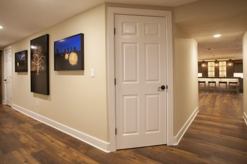 4 beautifully framed framed pictures.   Photography by Chris Becker