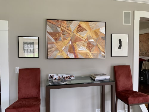 Paintings by Rae Heller seen at Private Residence, Bedford - Untitled