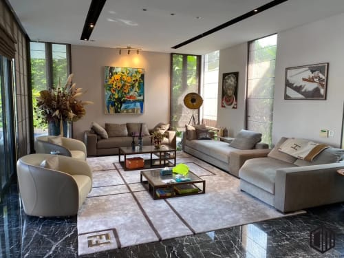 Rugs by Hermes seen at Private Residence, Bukit Timah, Singapore - Rug