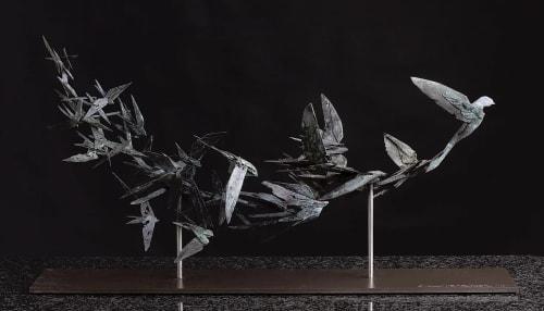 Simon Max Bannister - Public Sculptures and Sculptures