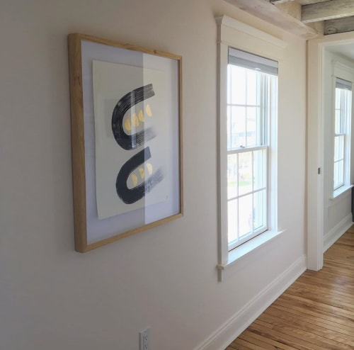 Paintings by Filiz Soyak seen at Private Residence, Hudson - Painting