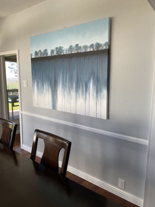 Paintings by Marion Wood seen at Private Residence, Camarillo - Solitude
