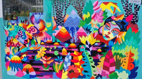 LEDANIA - Public Art and Murals