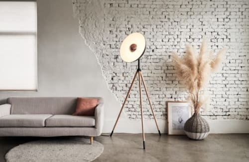 Lamps by SEED Design USA seen at Alchemy Collections, Seattle - APOLLO Floor Lamp