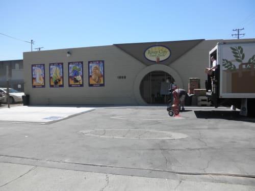 Art & Wall Decor by Kerri Warner seen at 1800 28th St, Sacramento - River City Food Bank
