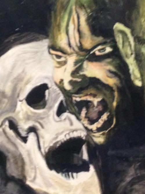 Murals by Rich T. seen at Harlem, New York - Halloween Murals 2018