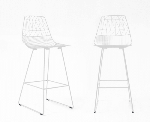Chairs by Bend Goods seen at Figo Toronto, Toronto - Lucy Bar Stool