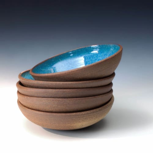 Tableware by BlackTree Studio Pottery & The Potter's Wife seen at Private Residence, Highland Park - Handsome Bowls for Pasta