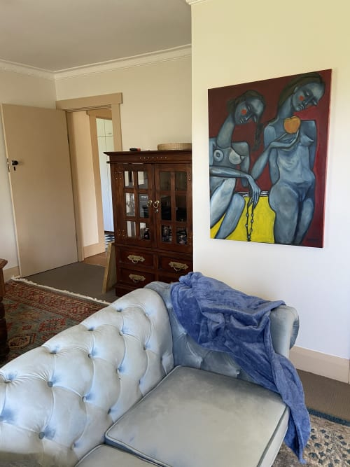 Paintings by Daria Andrews seen at Private Residence, Launceston - In the Good Will