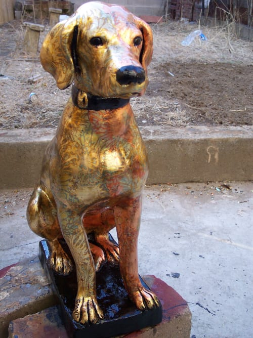 Public Sculptures by Garry Grant Studio seen at New York, New York - Dogs and Cats of New York 2010