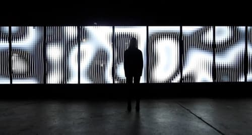 Art & Wall Decor by Marpi Studio seen at Obscura Digital, A Madison Square Garden Company, San Francisco - Binary Garden