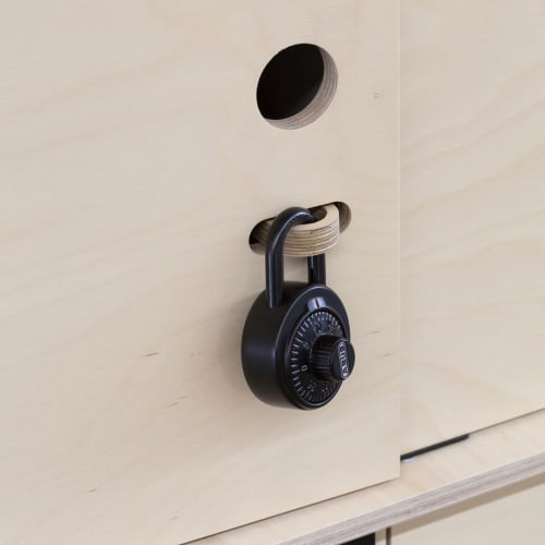 Furniture by So Watt seen at SafetyCulture Pty Ltd, Surry Hills - Office Locker