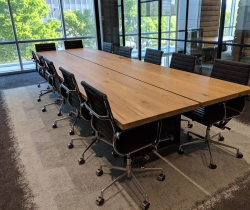Tables by SouthLoft seen at 5908 Headquarters Dr, Plano - Conference Table