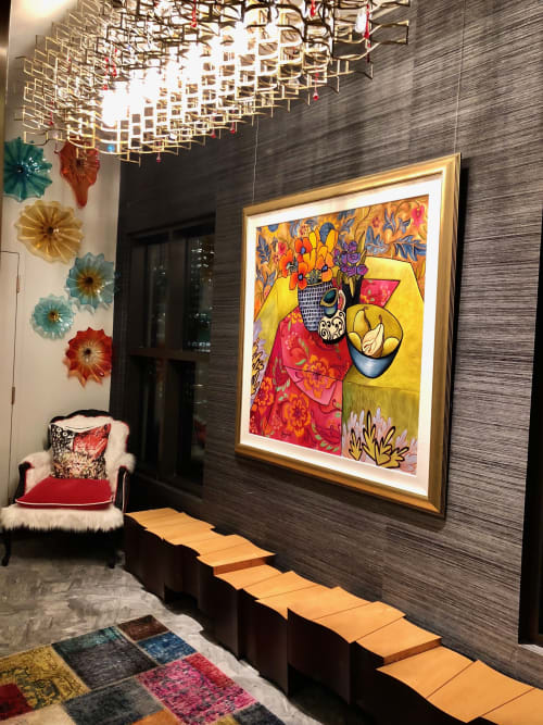Art Curation by BoughnerArt seen at Private Residence, Chicago - Image 786
