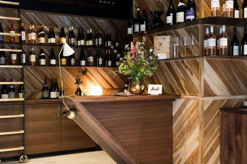 Interior Design by Reliquary Studio seen at Parcelle Wine, New York - Parcelle Wine