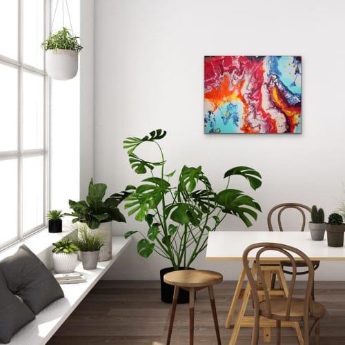 Paintings by Taneal Teresa seen at Private Residence, Brisbane - SYMBIOTIC