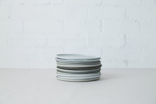 Ceramic Plates by Studio Enti seen at Fred's, Paddington - Dusked tableware