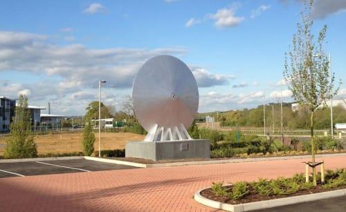 Public Sculptures by William Jordan seen at Wollaston BMW Northampton, Northampton - BMW Discus