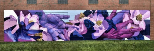 Taylor White - Murals and Street Murals