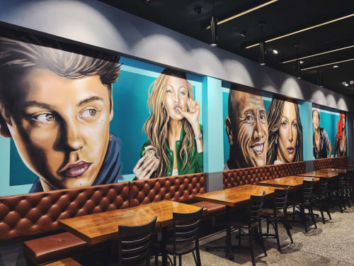 Interior Design by Reubszz seen at Parramatta, Parramatta - John Belvedere Restaurant
