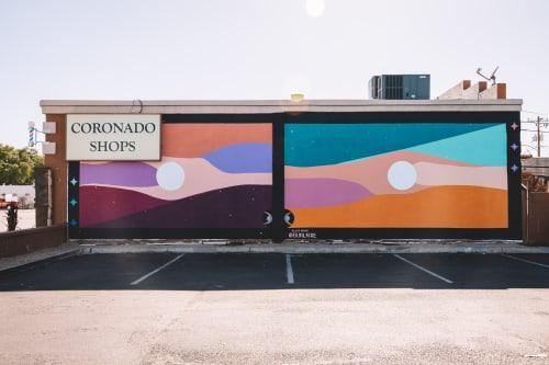 Street Murals by Buhlaixe Studio seen at Phoenix, Phoenix - Miracle Mile
