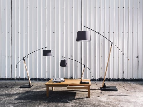 Lamps by SEED Design USA seen at 858 Lind Ave SW, Renton - ARCHER Floor Lamp L / XL
