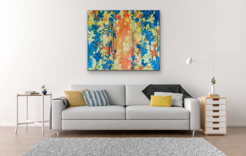 Paintings by Ashley Rose seen at Private Residence - Oh, The Islands Are Calling
