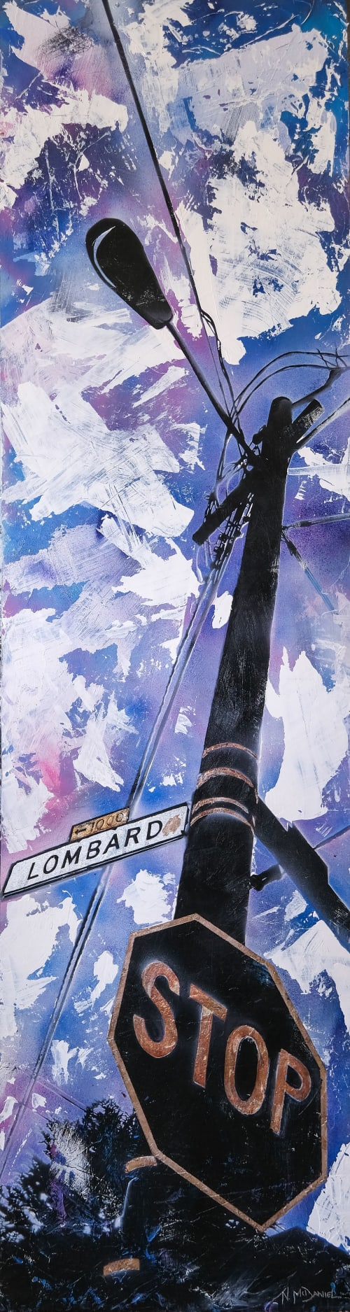Paintings by Nichole McDaniel seen at Creator's Studio - Lombard Street