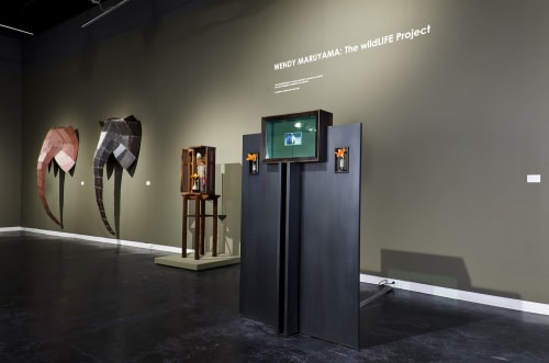 Public Sculptures by Wendy Maruyama Studios seen at San Diego, San Diego - Cenotaph