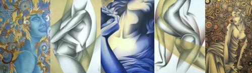 Noel Suarez - Paintings and Sculptures