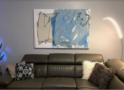 Paintings by Lee Arnett seen at Private Residence, New York - Contentment