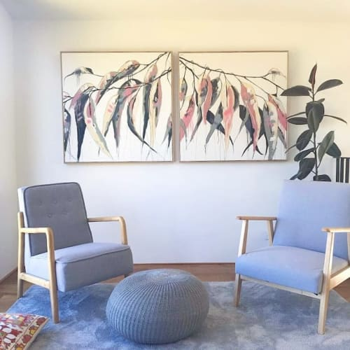 Paintings by Aidan Weichard seen at Private Residence, Sydney - Painting