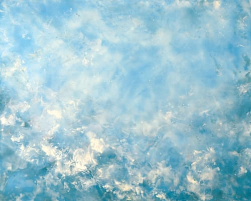 Paintings by BETSY EBY seen at Private Residence, Seattle - Beyond the Sky