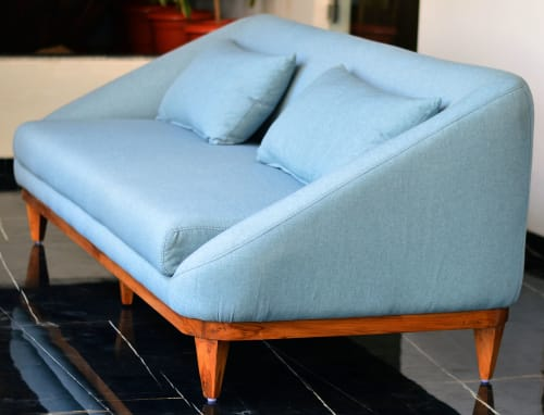 Sofa | Couches & Sofas by GreenSquares_DesignStudio | SKY SOL in Ahmedabad
