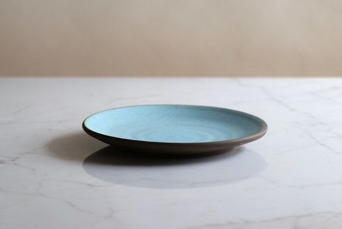 Ceramic Plates by Jono Pandolfi seen at Paramount Coffee Project, Los Angeles - Coupe Salad Plate