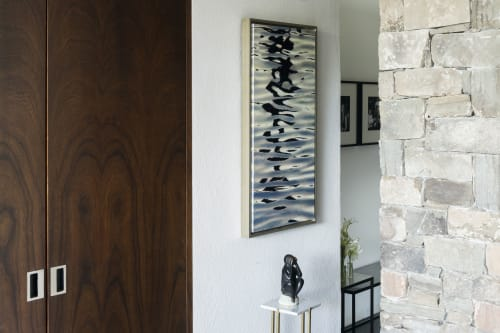 Art Curation by Sorelle Gallery seen at Private Residence, New Canaan, New Canaan - Beautiful Lakefront Home
