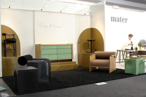 Interior Design by Crump & Kwash seen at Jacob K. Javits Convention Center, NYC, New York - ICFF 2019